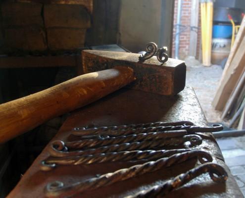 Skovstuen Pil, Sei kurs v/ Lars Levin, blacksmith