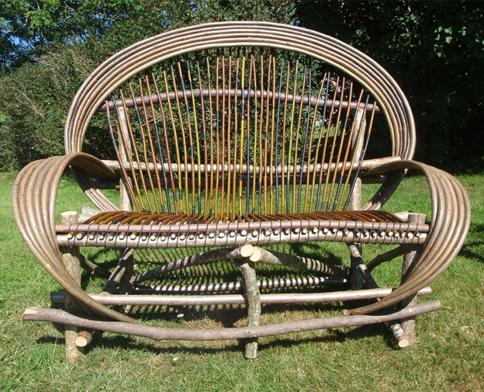 Bendwood sofa